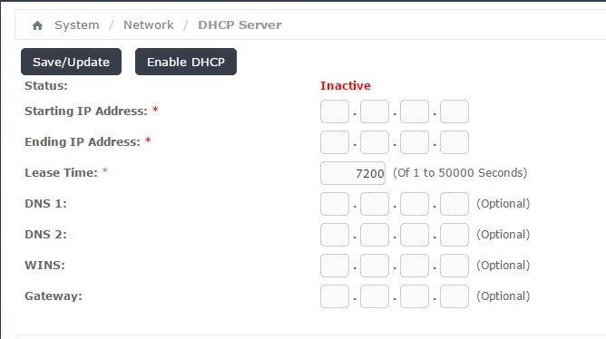 DHCP سرور در ايزابل